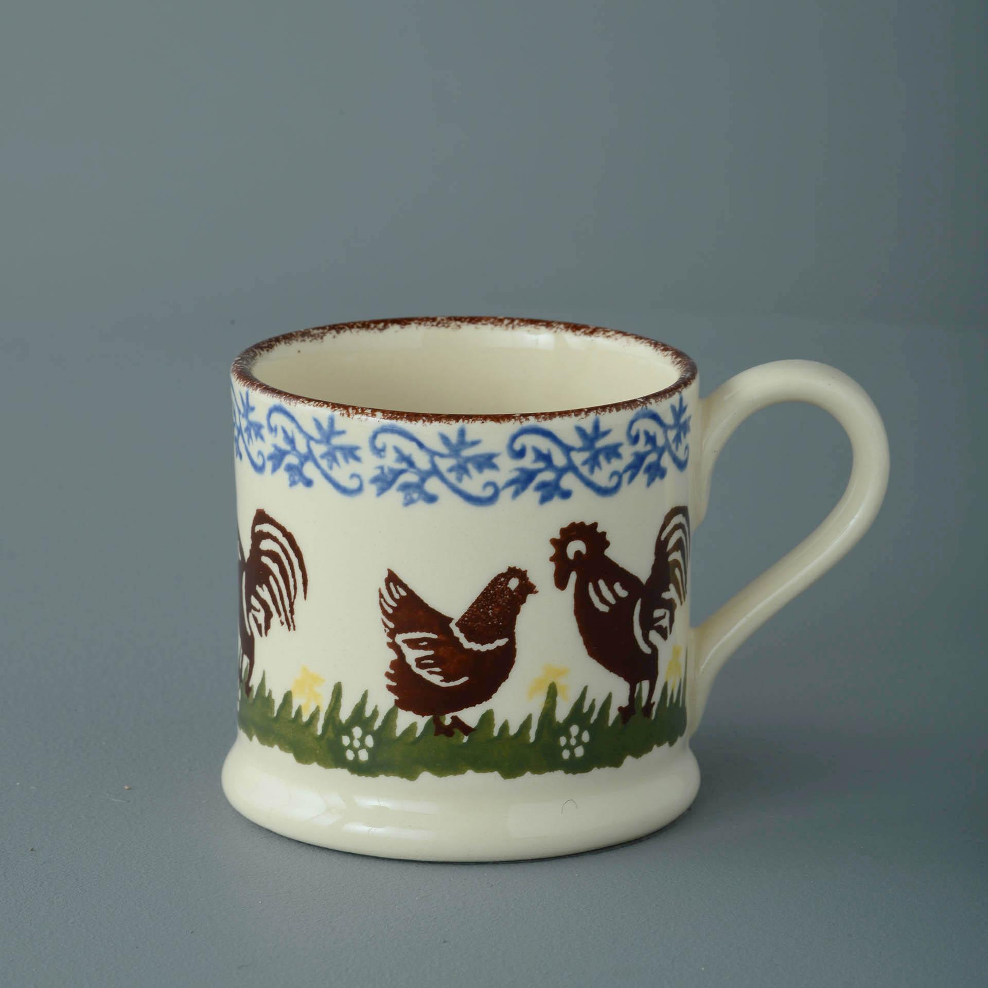 Cock & Hen 150ml Small Mug 7 x 7.3cm