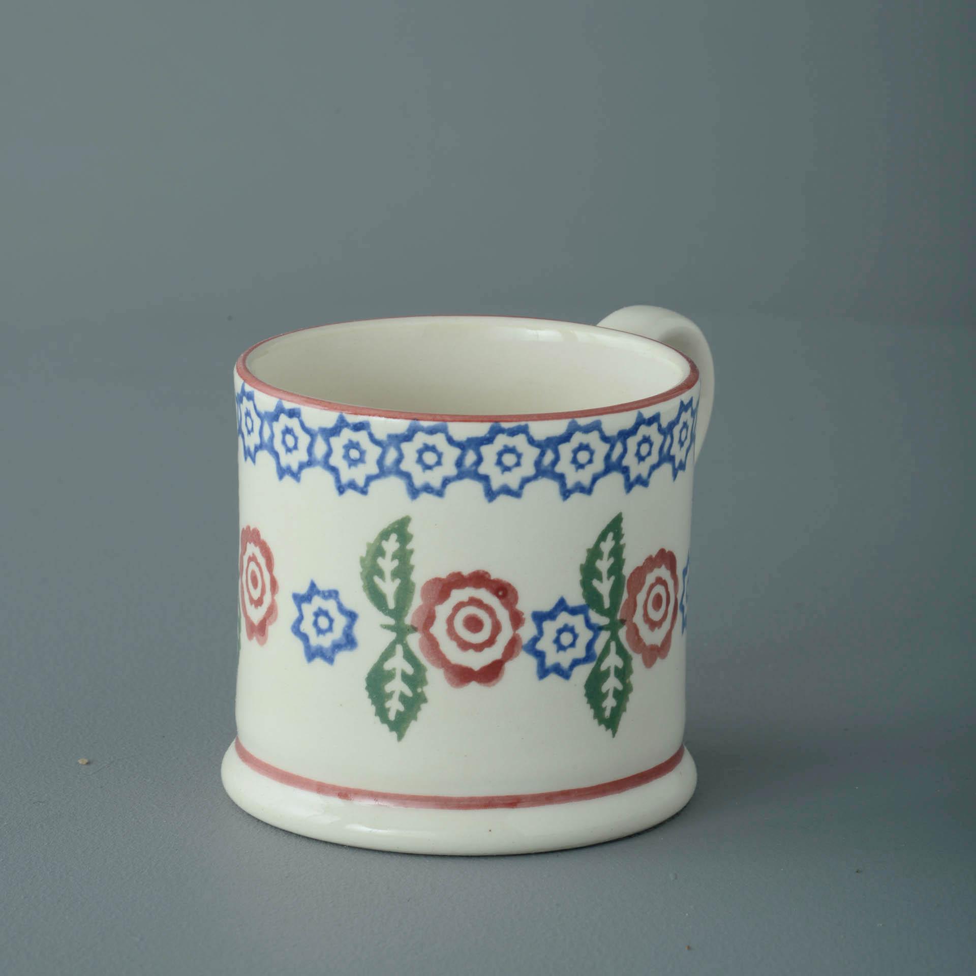 Victorian Floral 150ml Small Mug 7 x 7.3cm