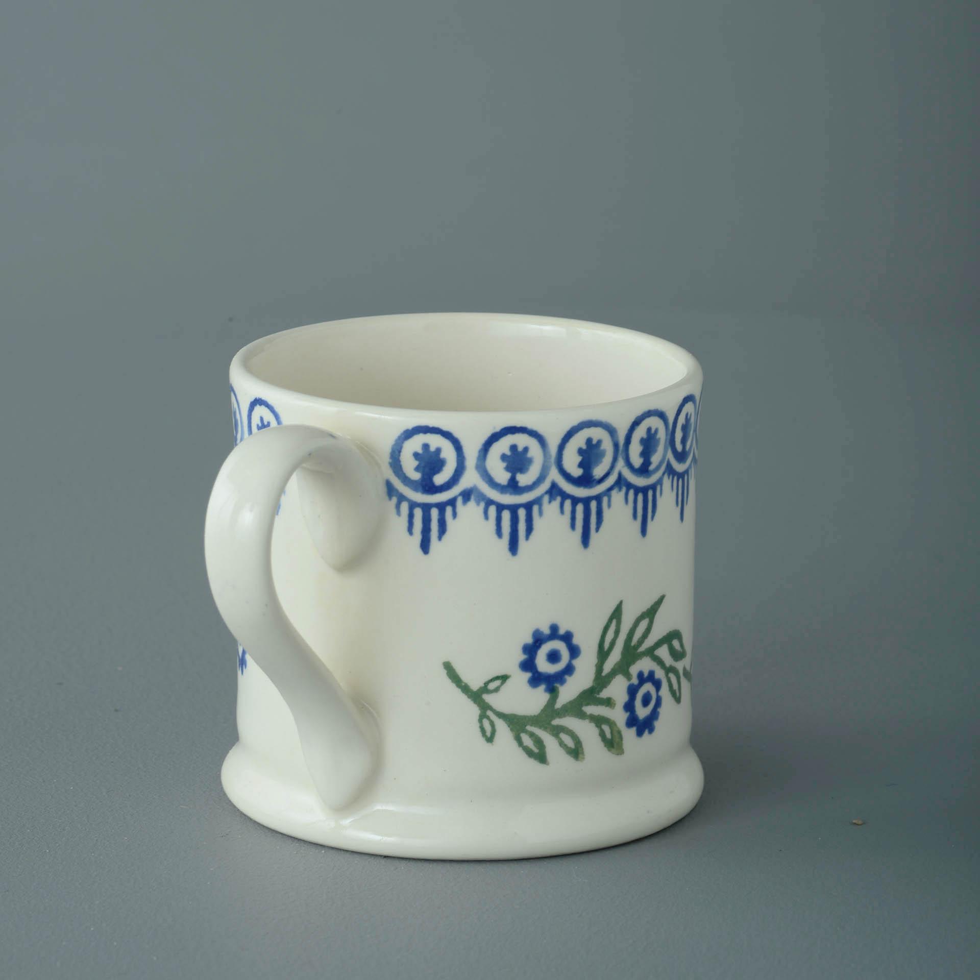 Floral Garland 150ml Small Mug 7 x 7.3cm