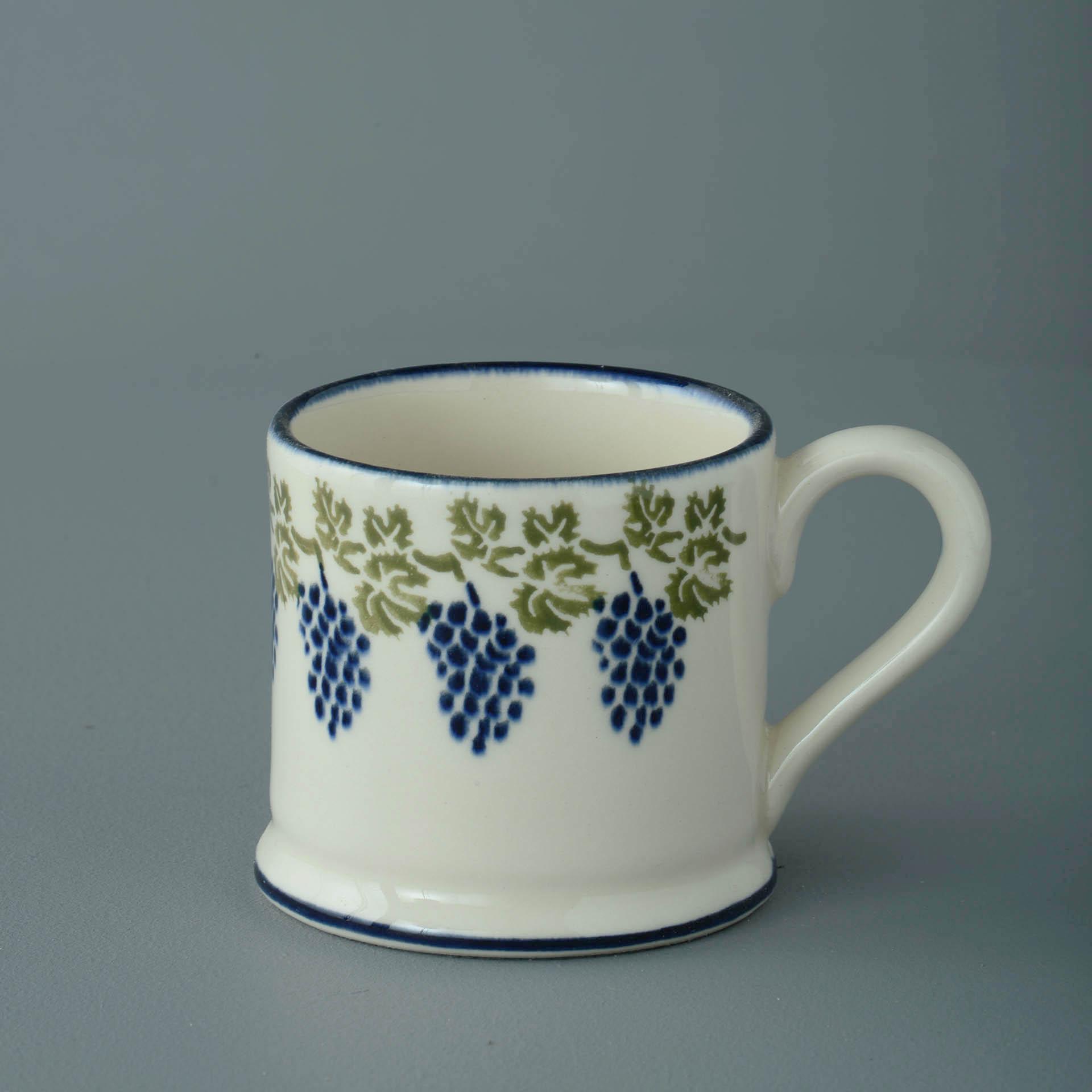 Grapes and Vine 150ml Small Mug 7 x 7.3cm
