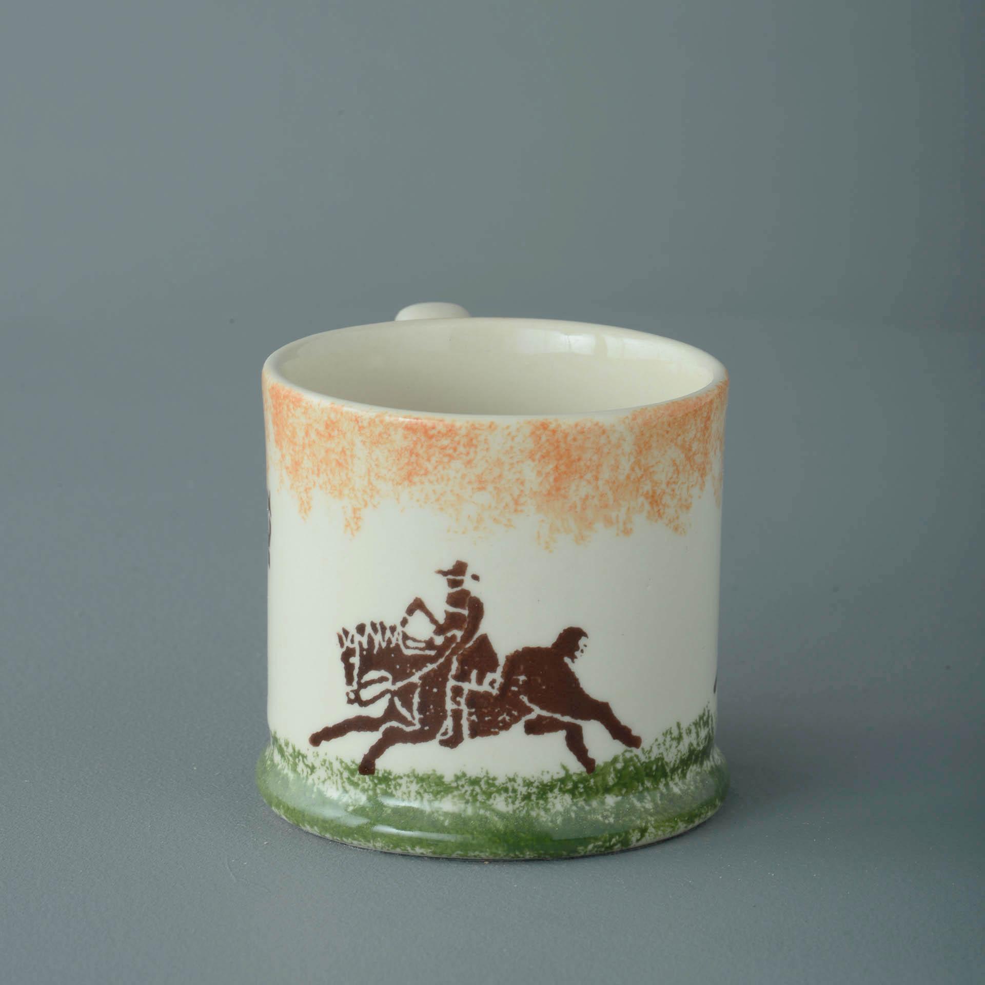 Cowboy and Farrier 150ml Small Mug 7 x 7.3cm