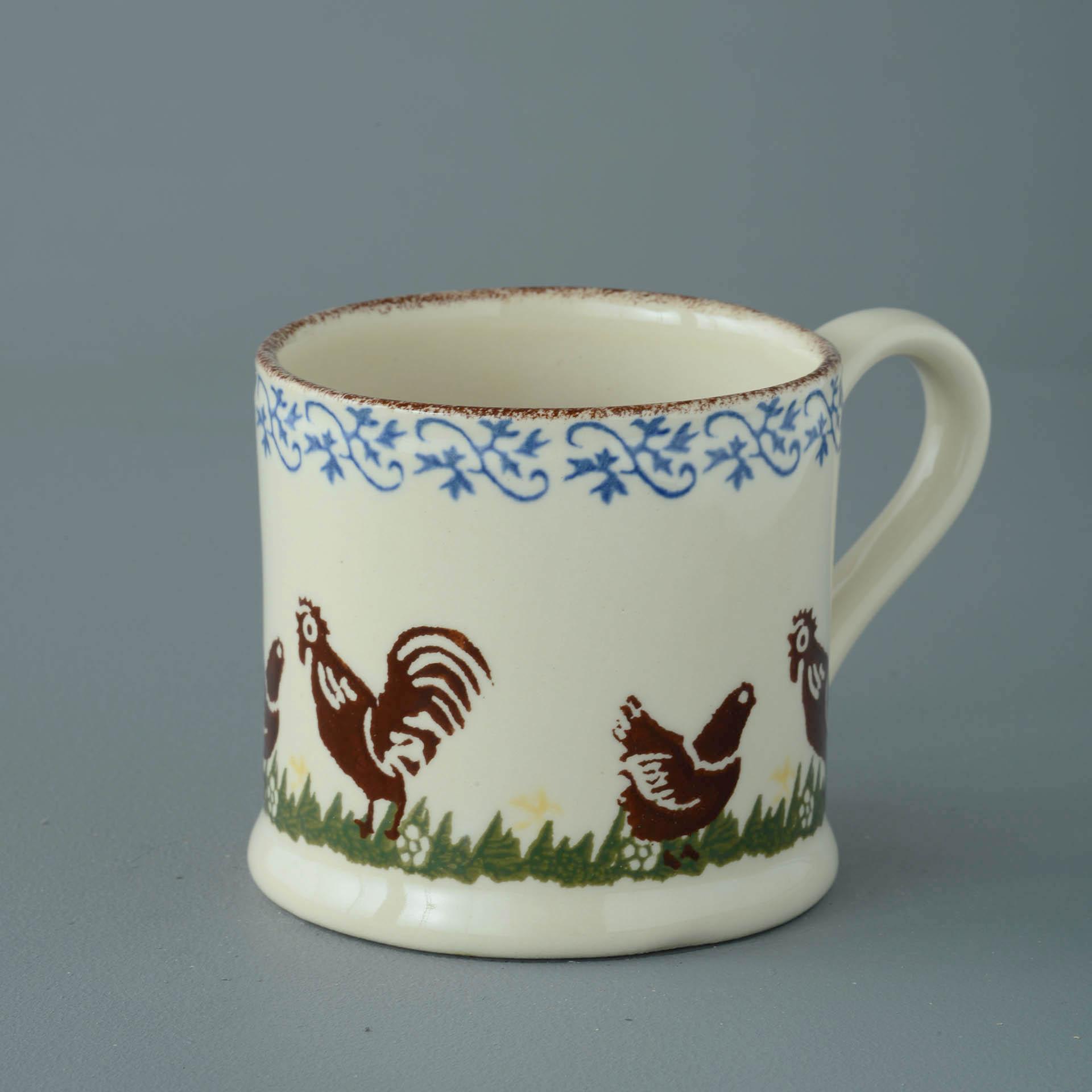 Cock & Hen 250ml Large Mug 8 x 8.4cm