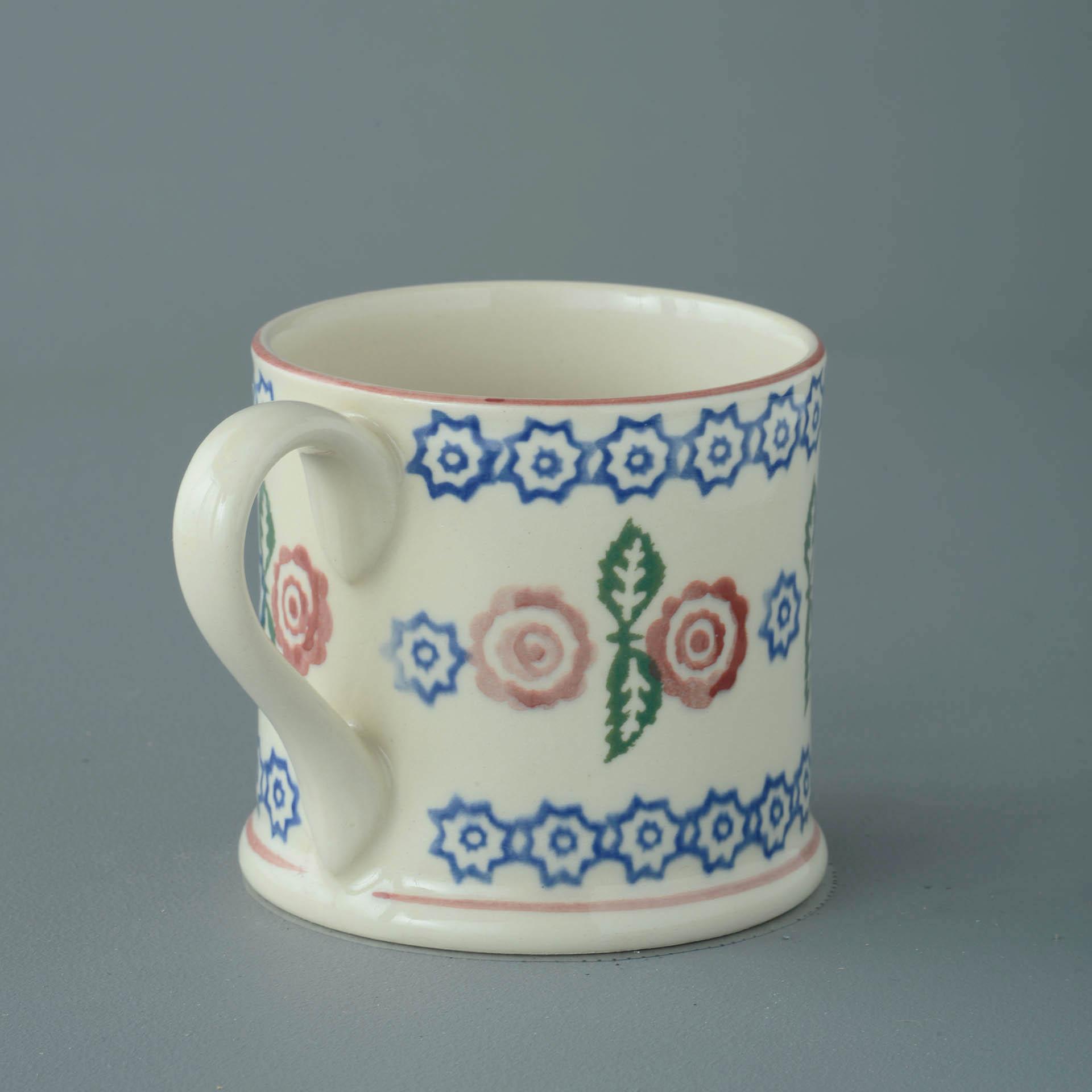 Victorian Floral 250ml Large Mug 8 x 8.4cm