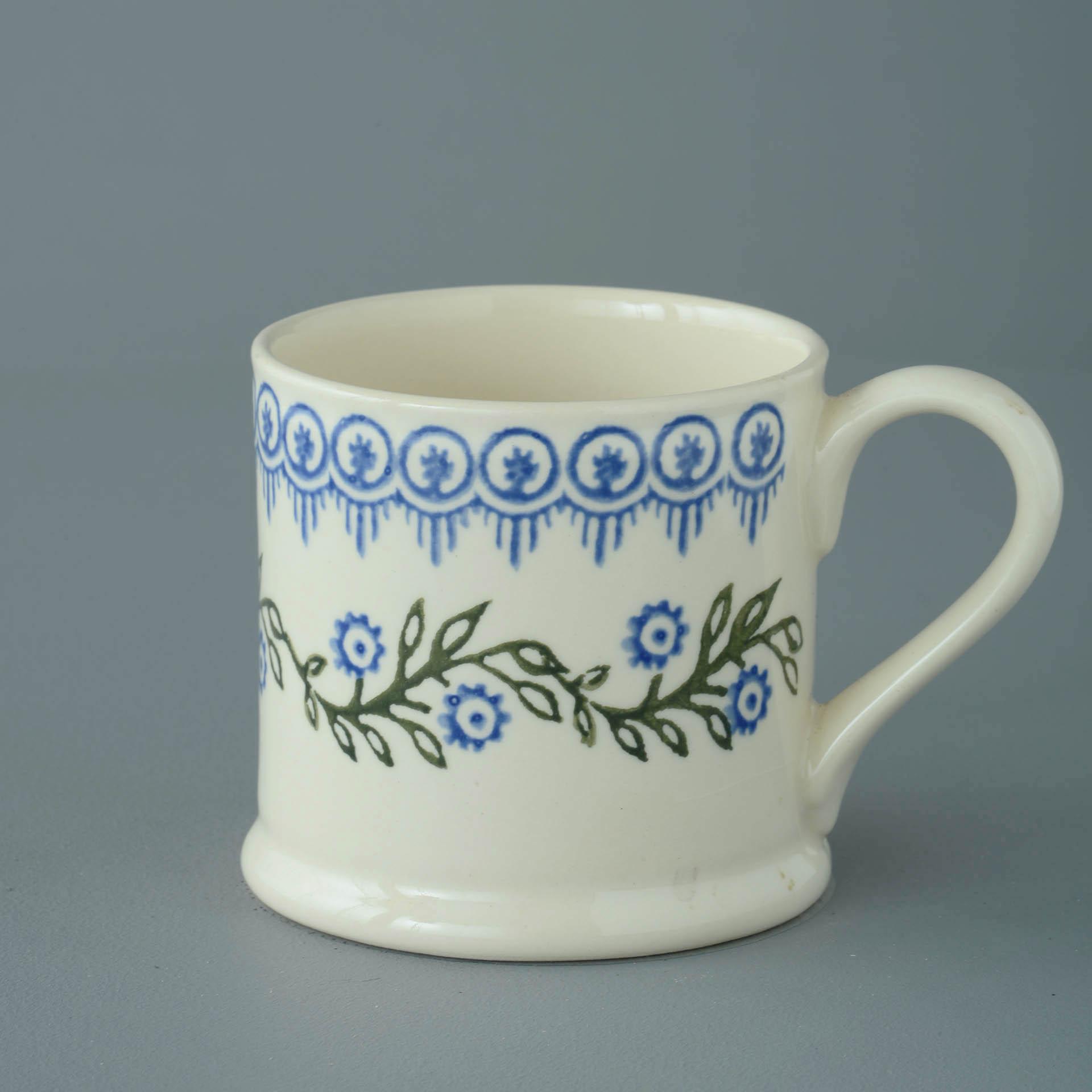 Floral Garland 250ml Large Mug 8 x 8.4cm