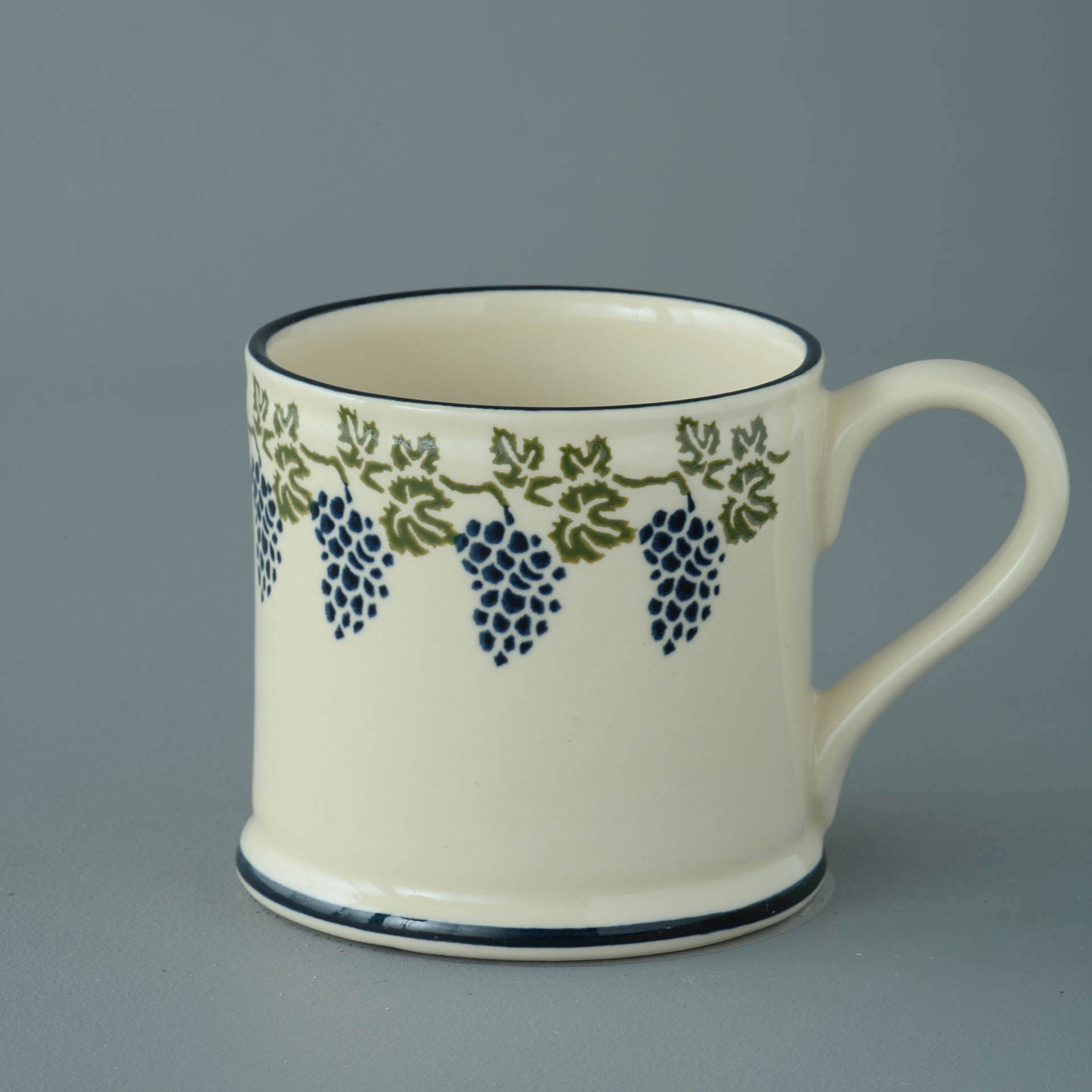 Grapes and Vine 250ml Large Mug 8 x 8.4cm