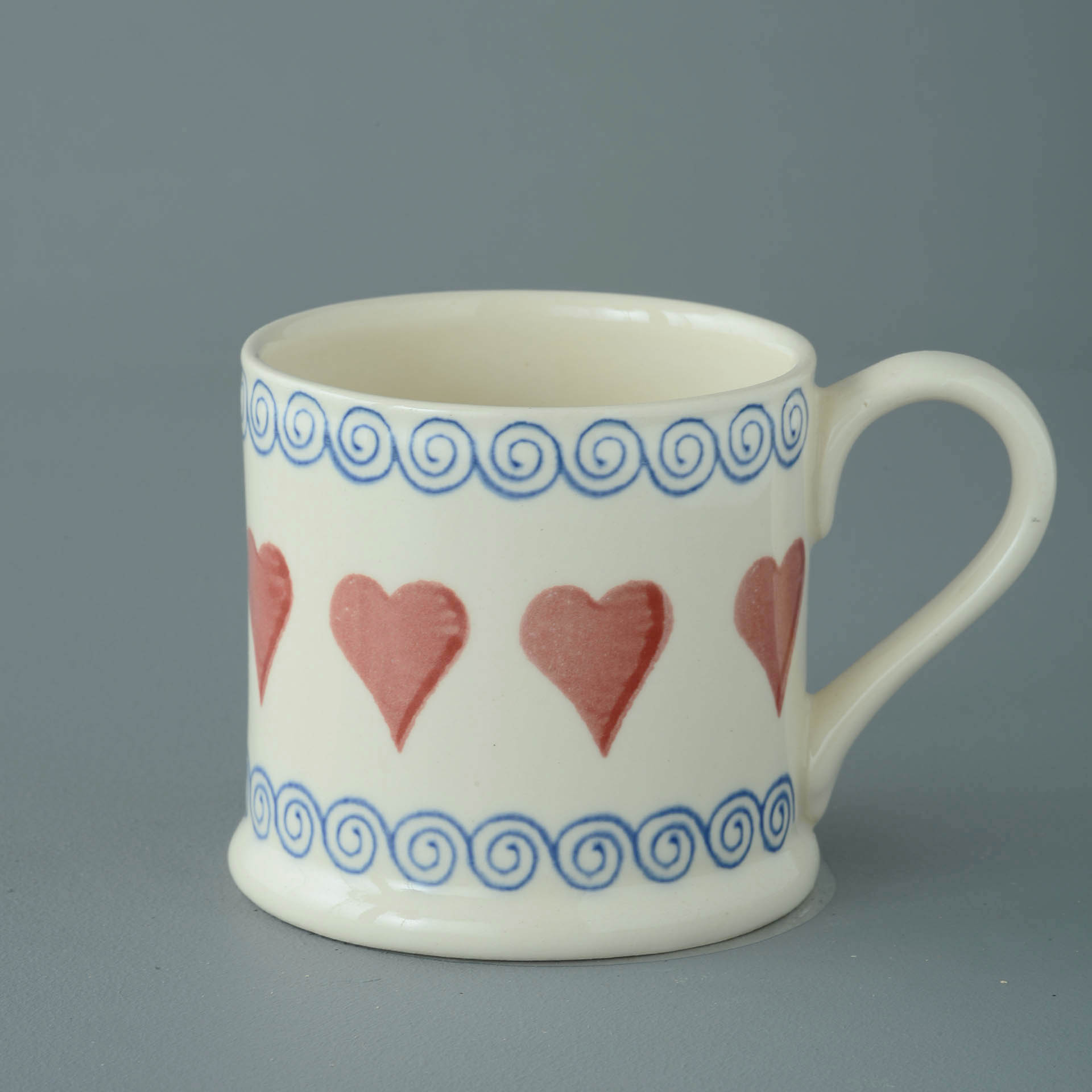 Hearts 250ml Large Mug 8 x 8.4cm