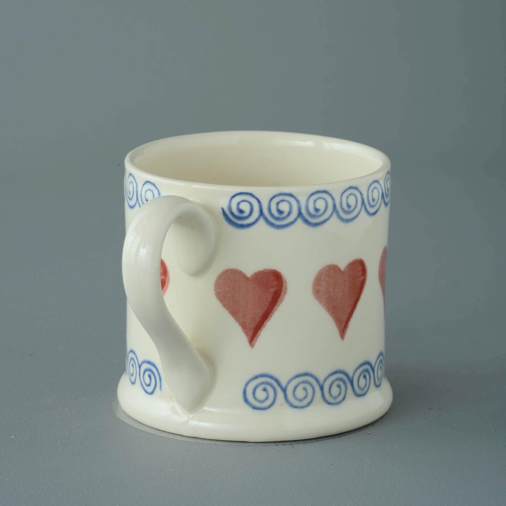 Hearts 250ml Large Mug 8 x 8.4cm
