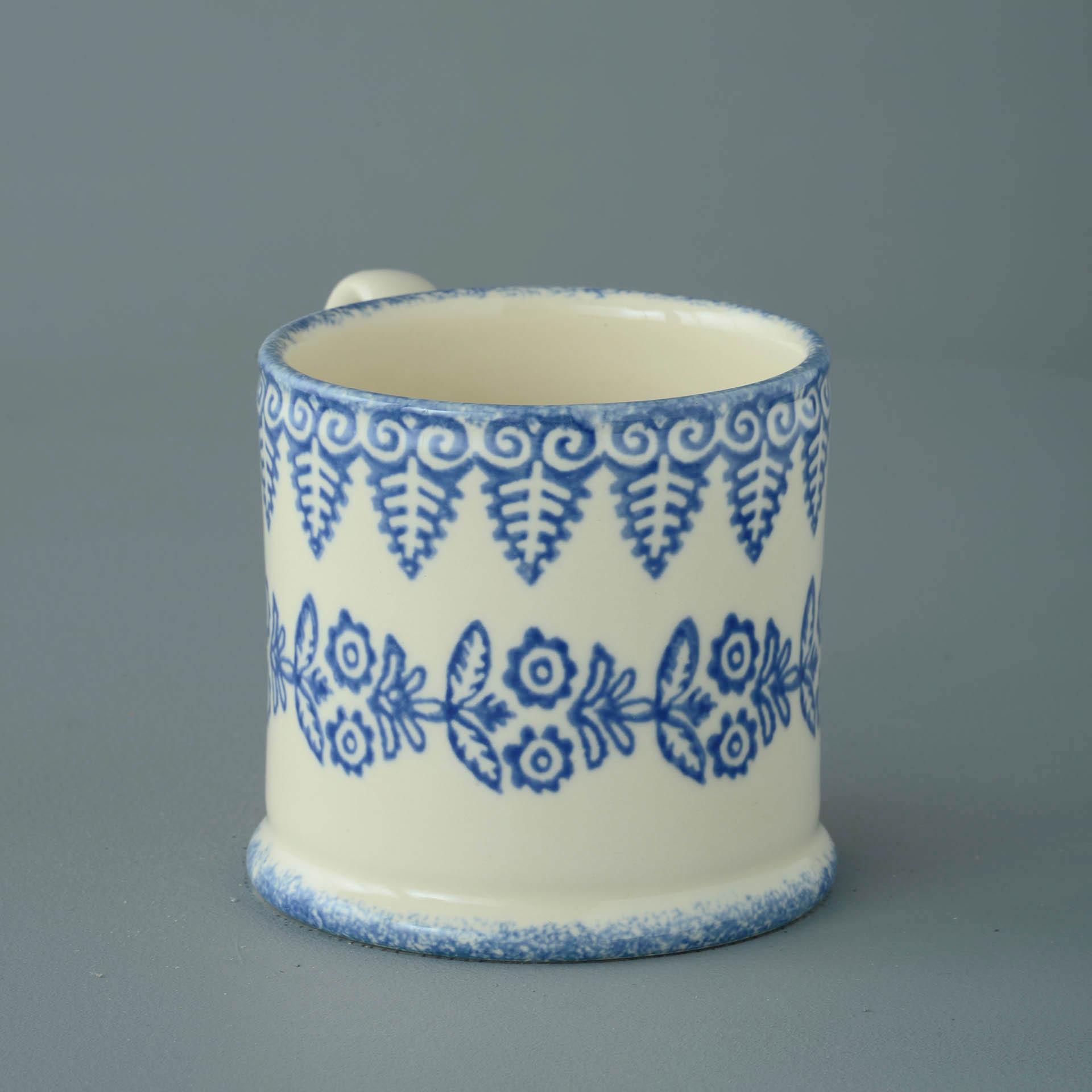 Lacey Blue 250ml Large Mug 8 x 8.4cm