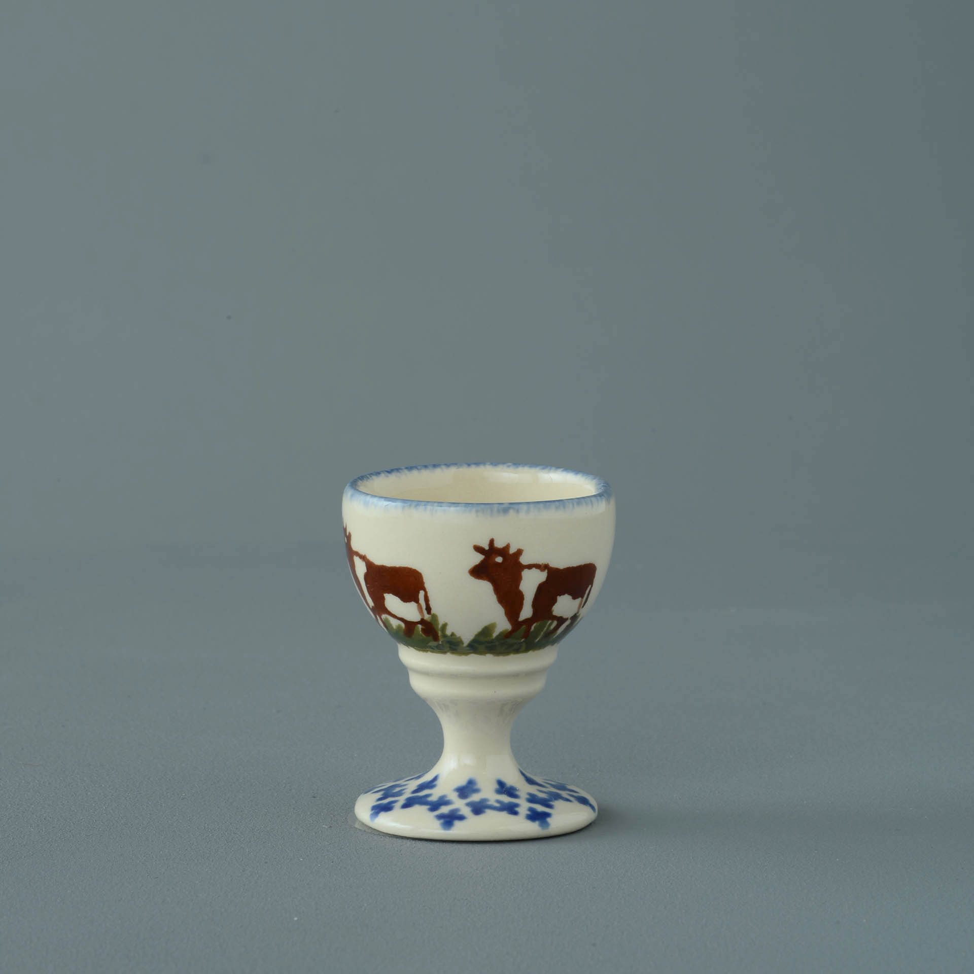 Cows Egg cup 6.3 x 5.2cm