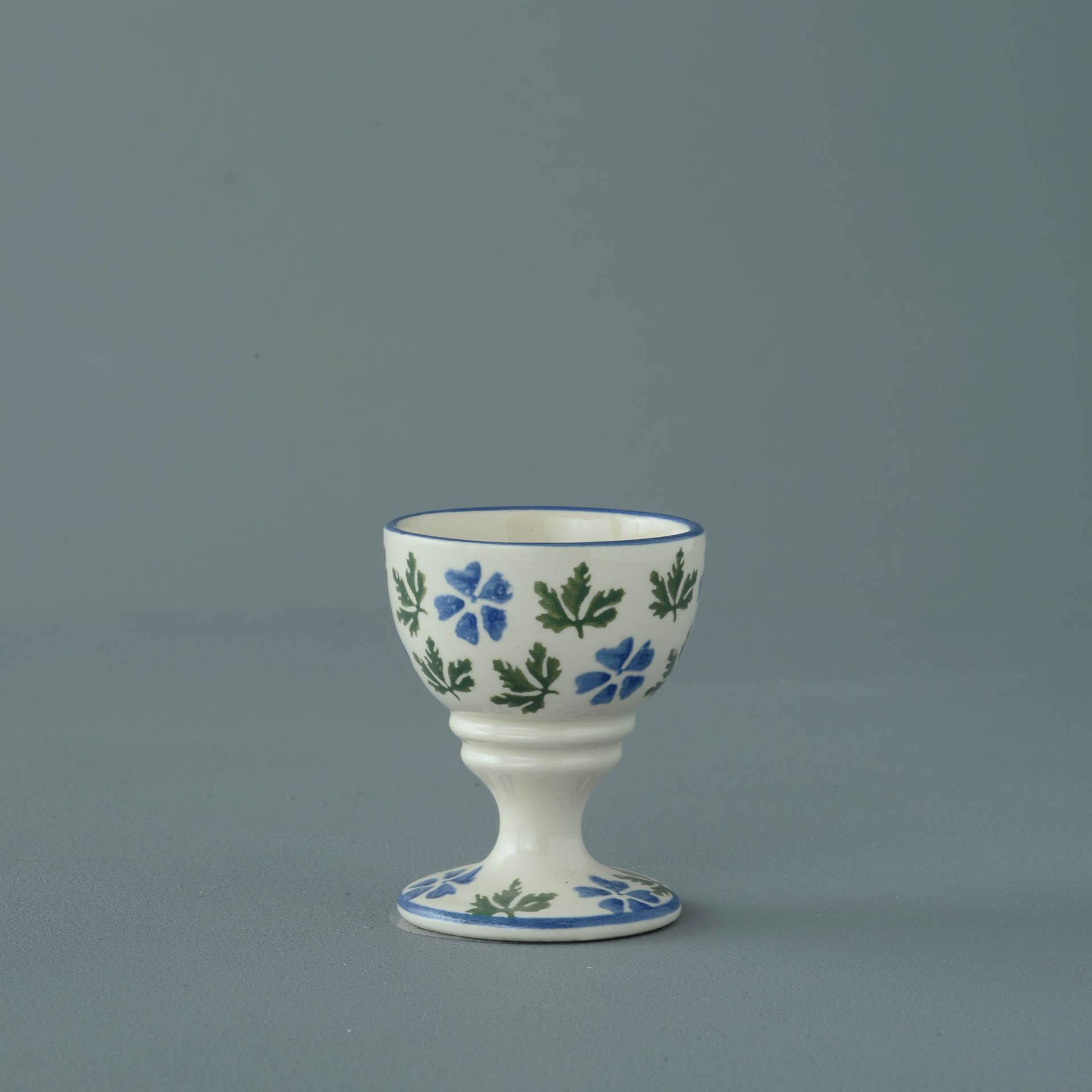Geranium Egg cup 6.3 x 5.2cm