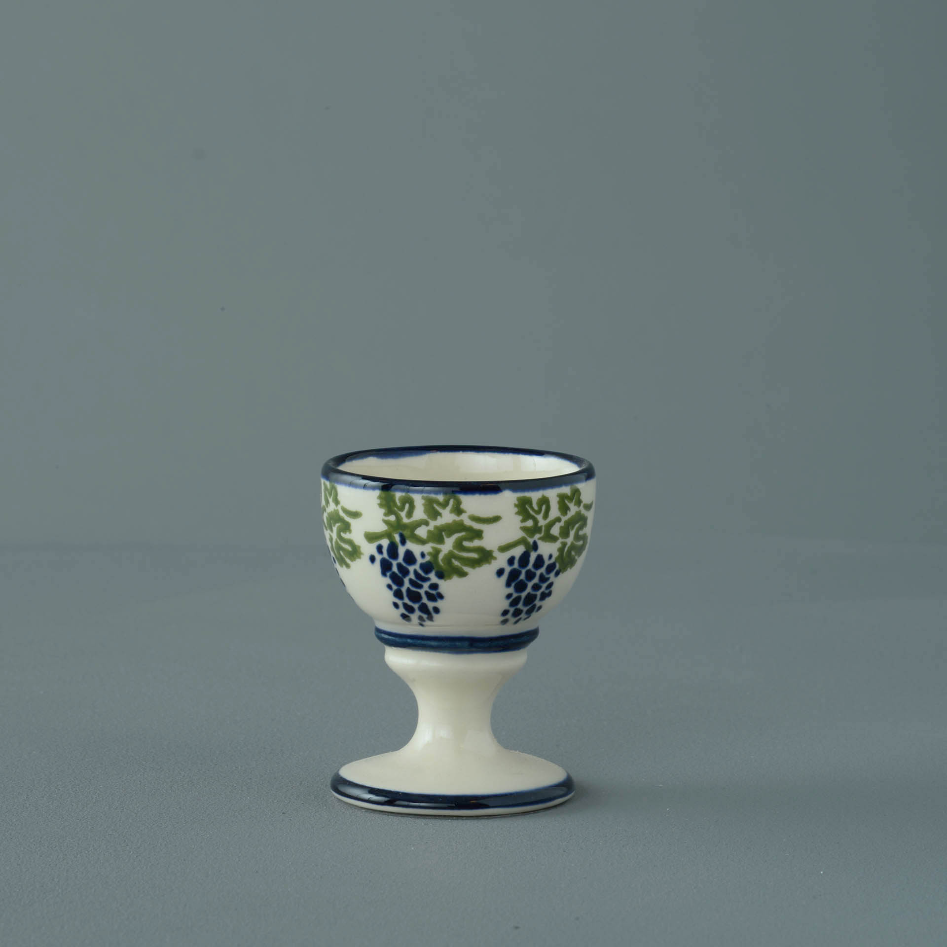 Grapes and Vine Egg cup 6.3 x 5.2cm