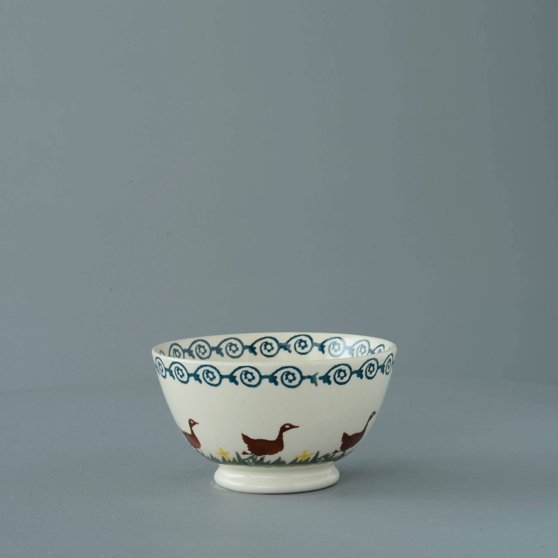 Ducks Small Bowl 6.5 x 12 cm