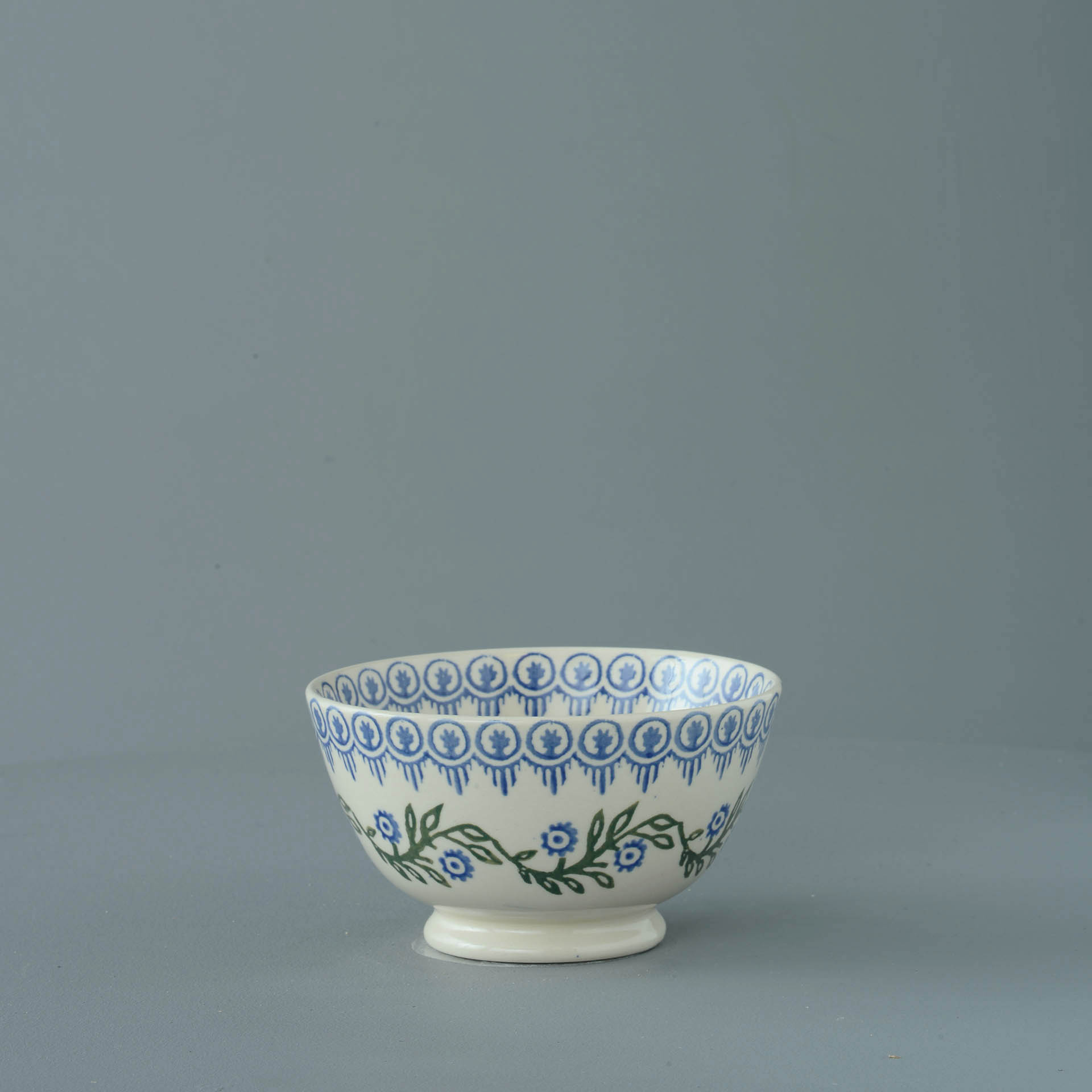 Floral Garland Small Bowl 6.5 x 12 cm