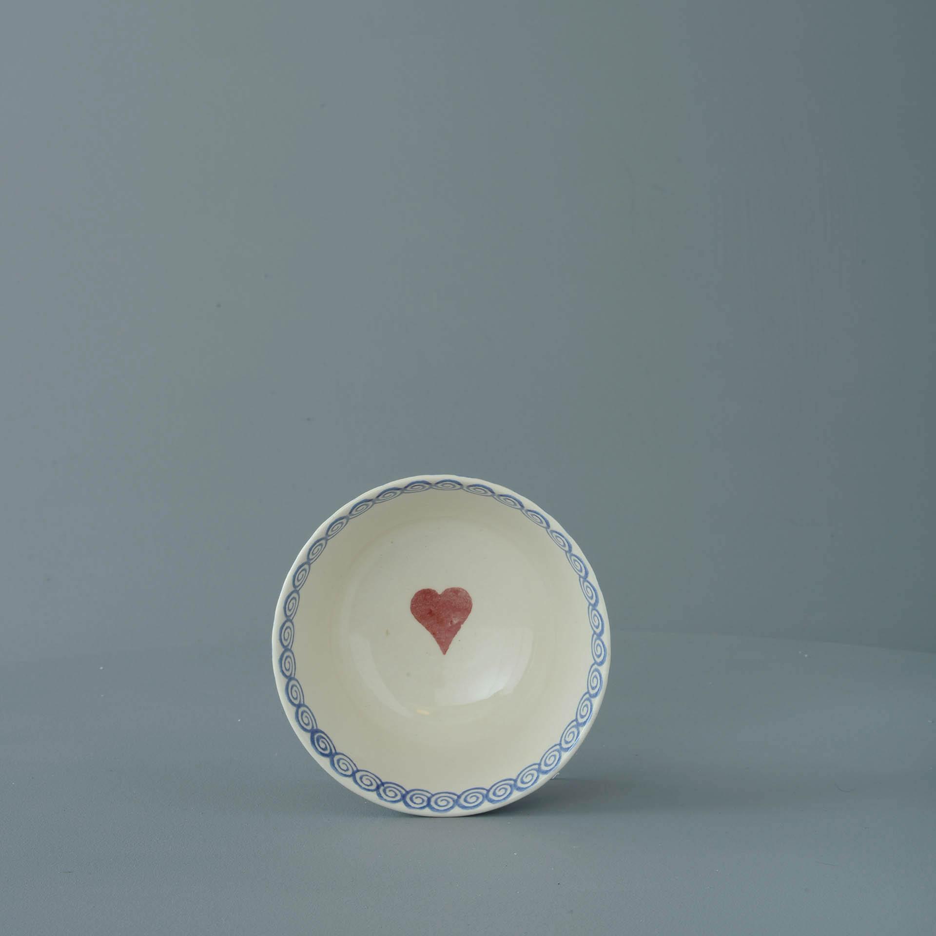 Hearts Small Bowl 6.5 x 12 cm