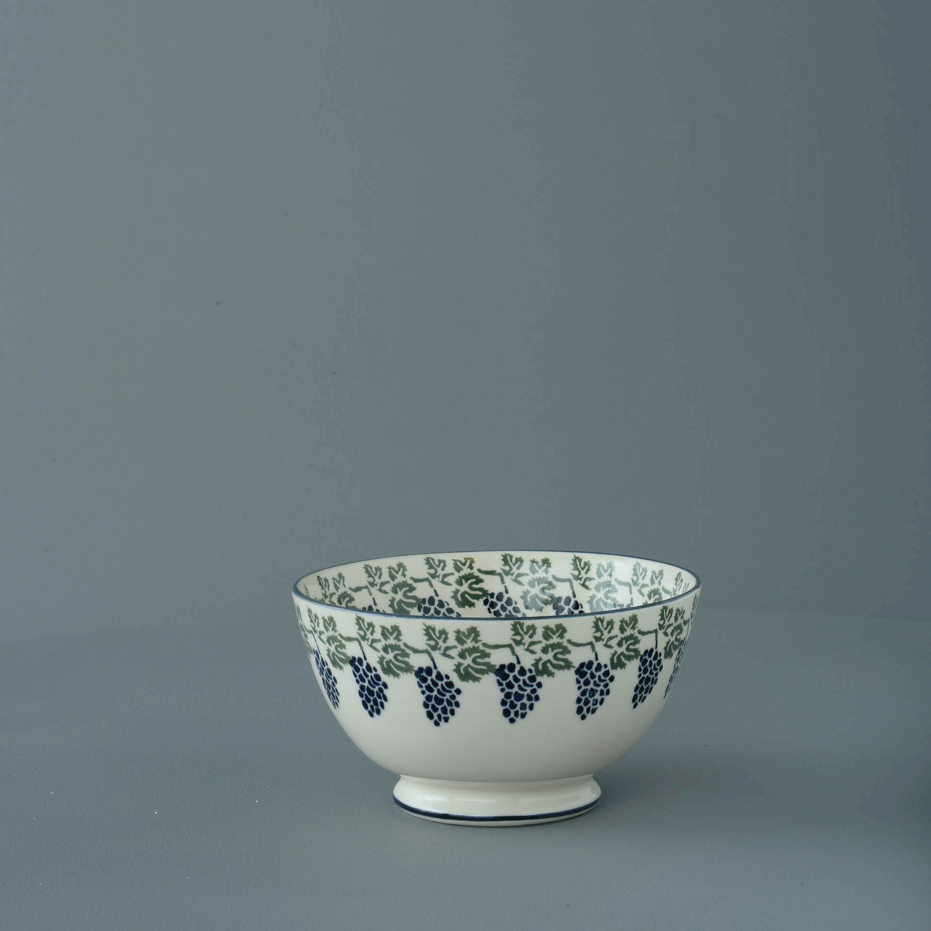 Grapes and Vine Cereal Bowl 7 x 13cm