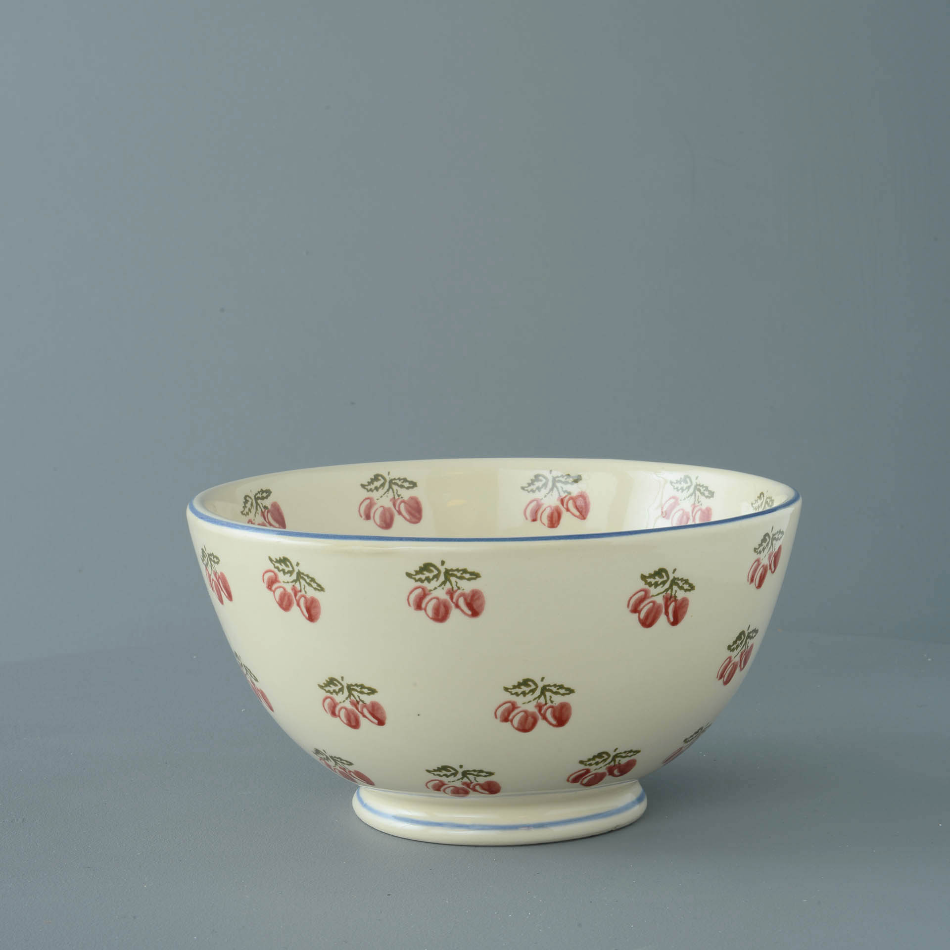 Cherries Serving Bowl 11 x 21.5cm