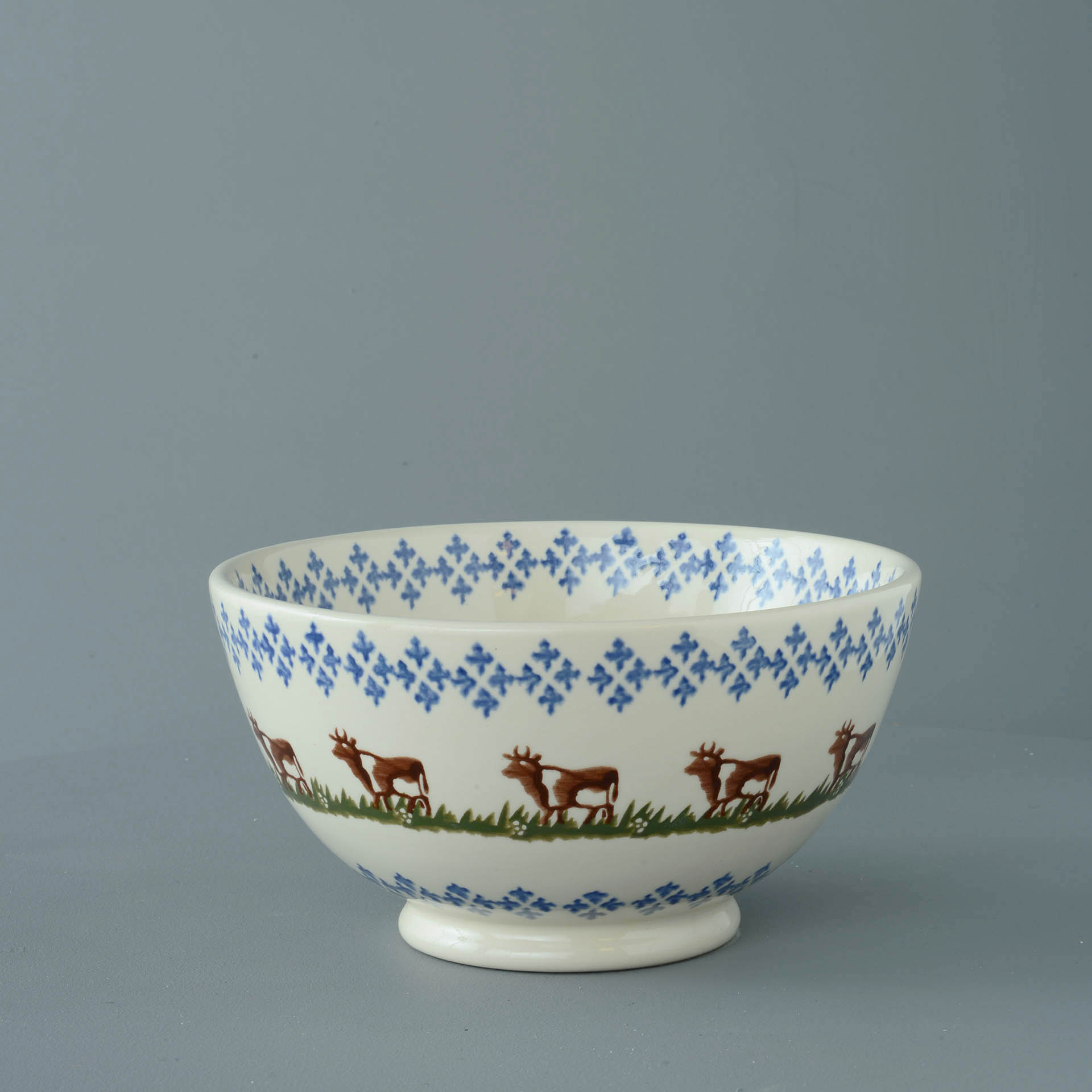 Cows Serving Bowl 11 x 21.5cm