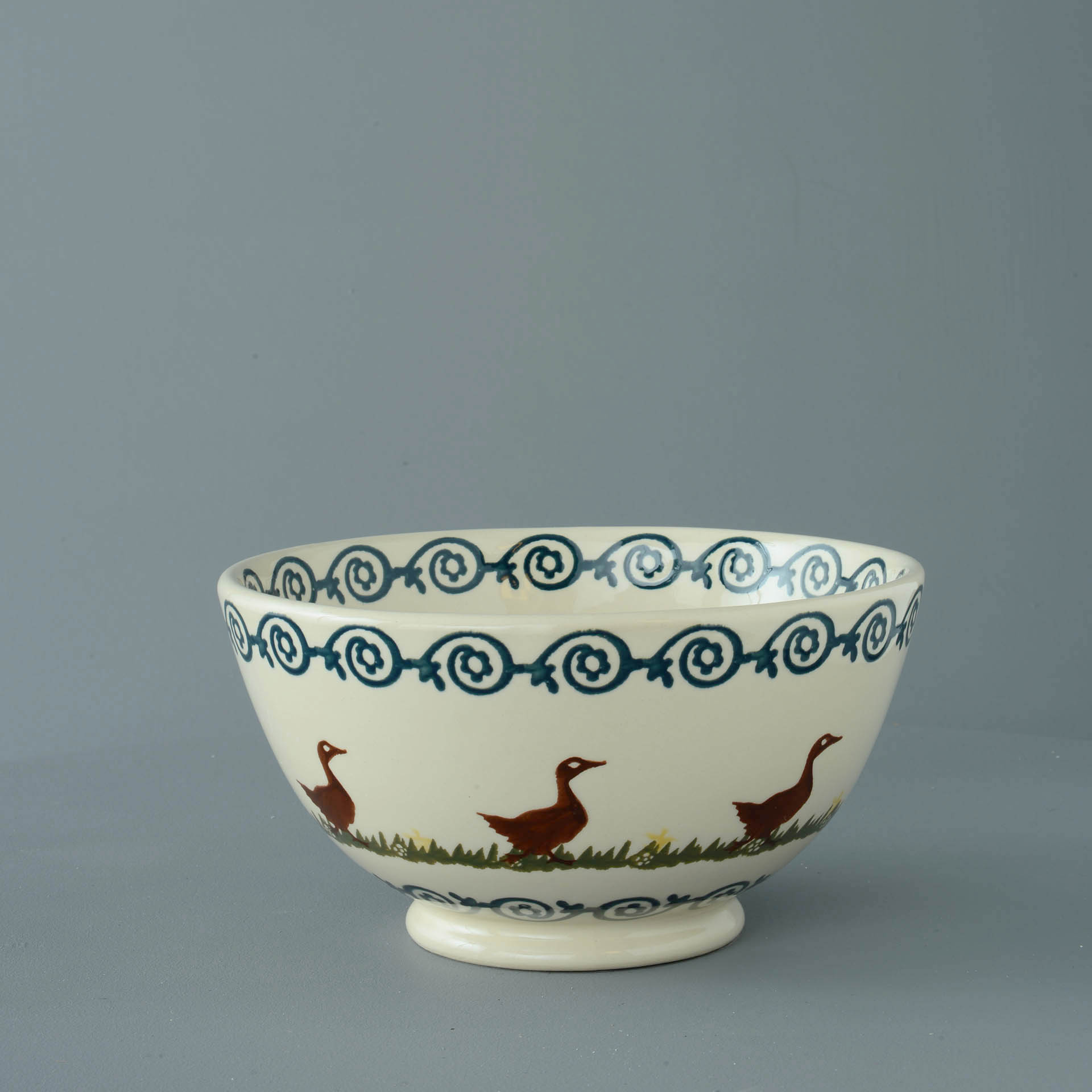 Ducks Serving Bowl 11 x 21.5cm