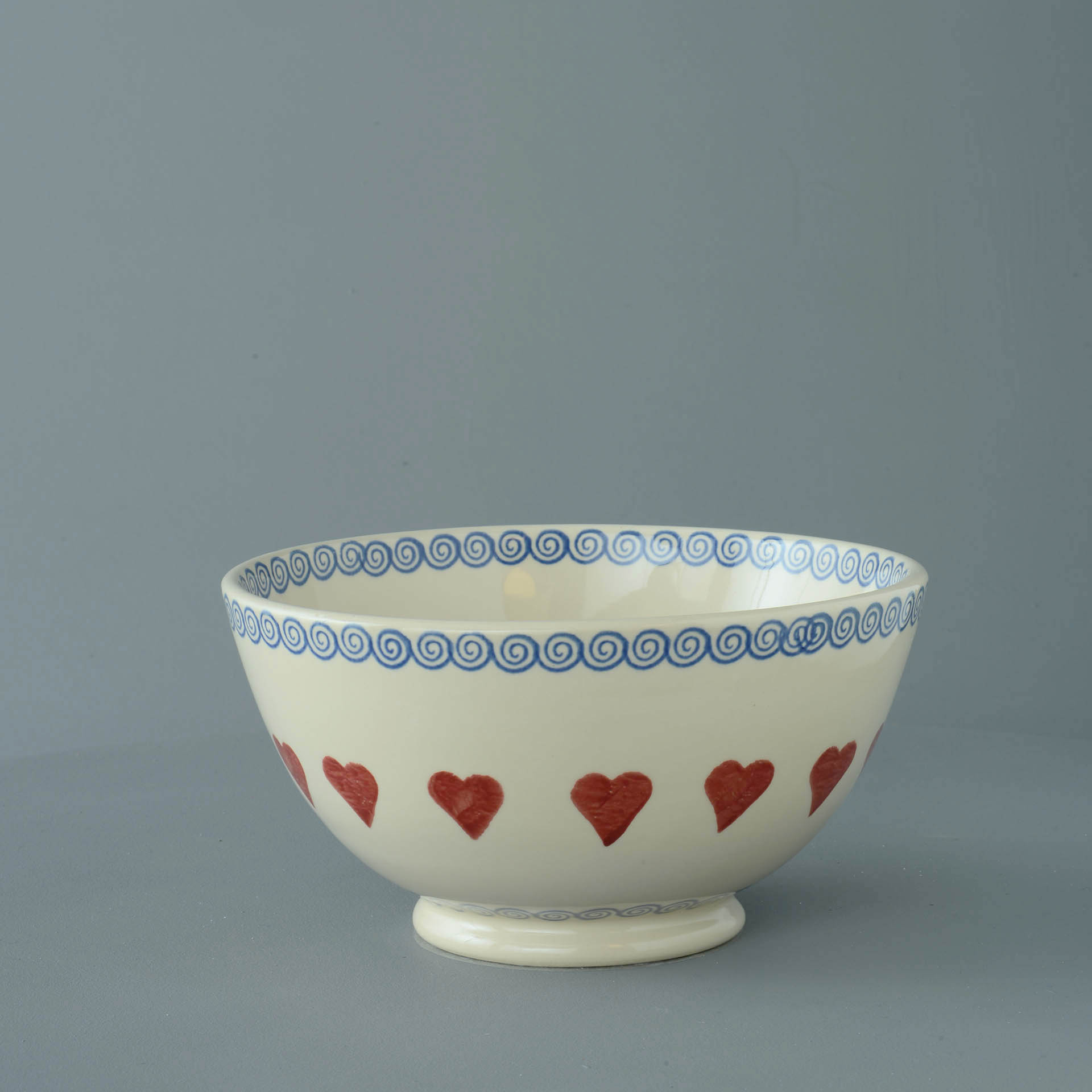 Hearts Serving Bowl 11 x 21.5cm