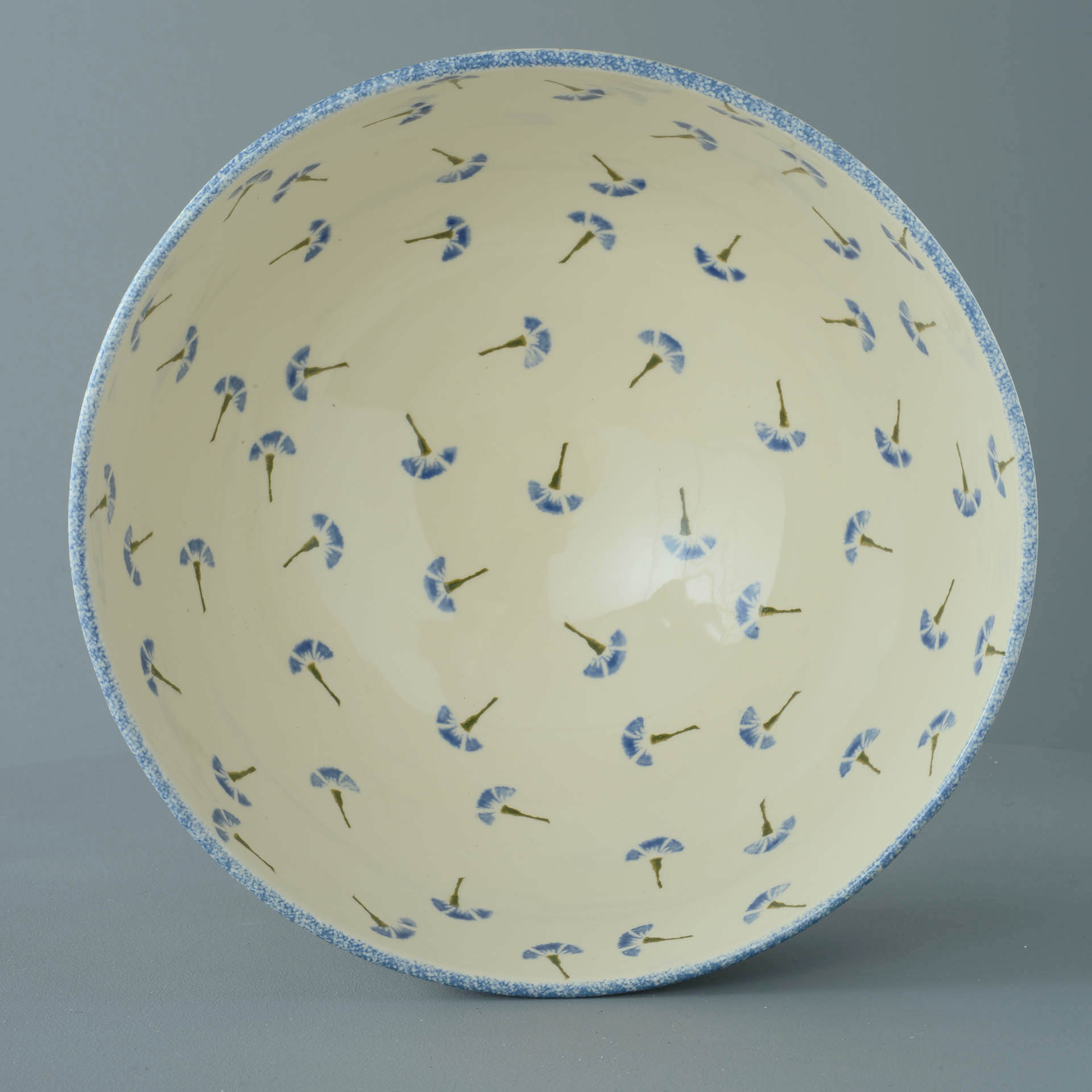 Cornflower Salad Bowl 27.5 (w) x 14.5 (h) cm.