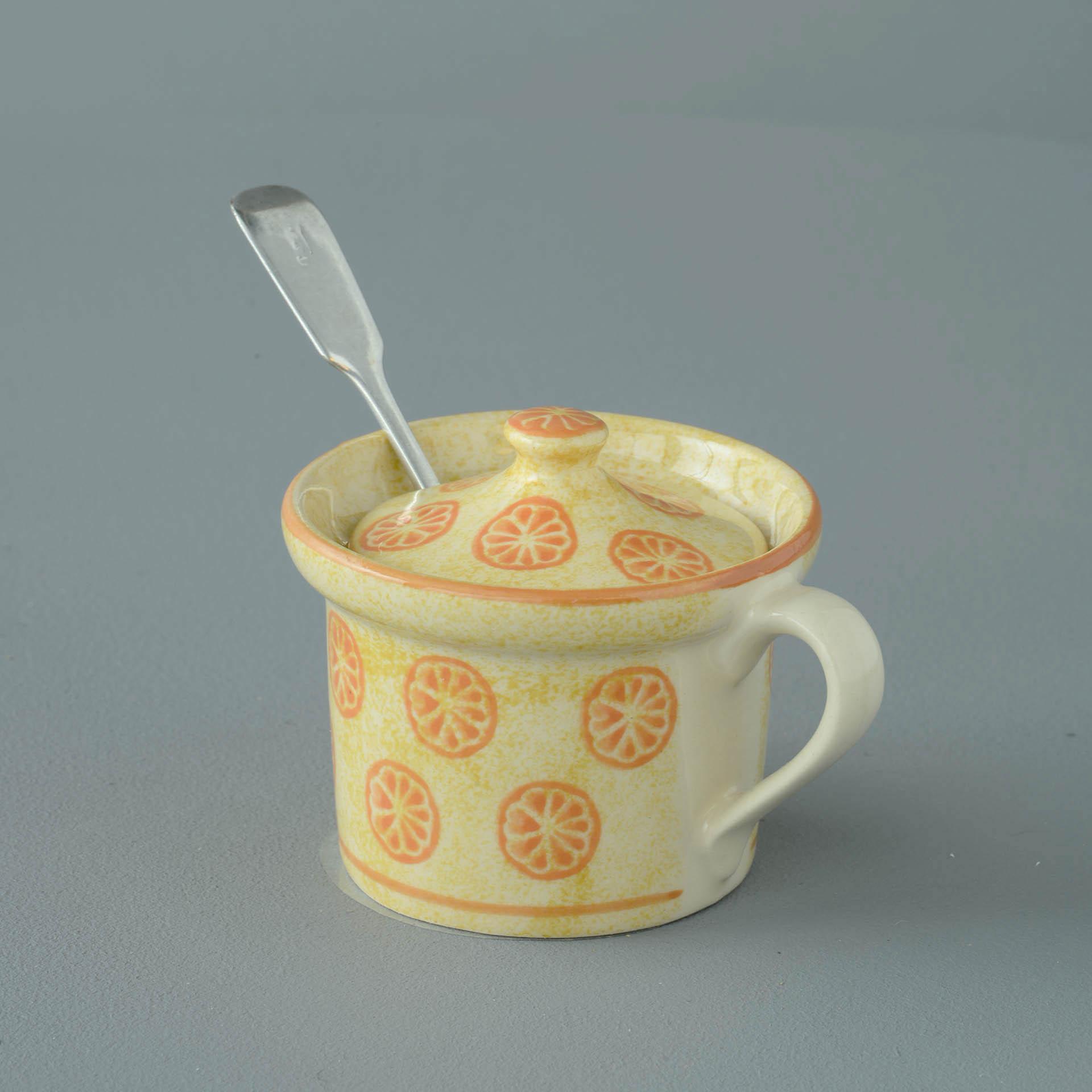 Marmalade Mustard Pot 7.8(w) x 5.4(h) cm
