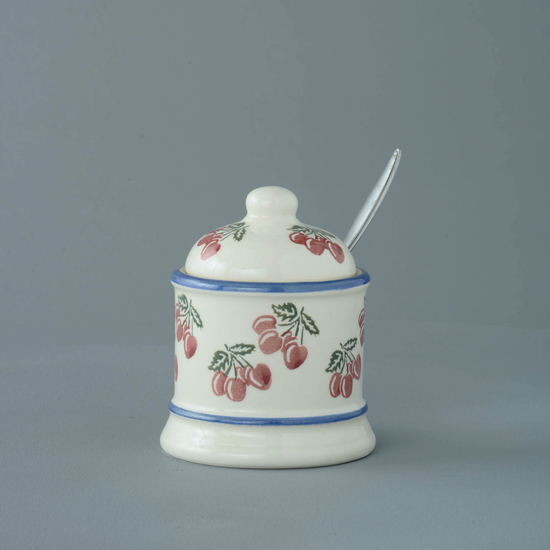 Cherries Jam Pot 10 x 7.5cm