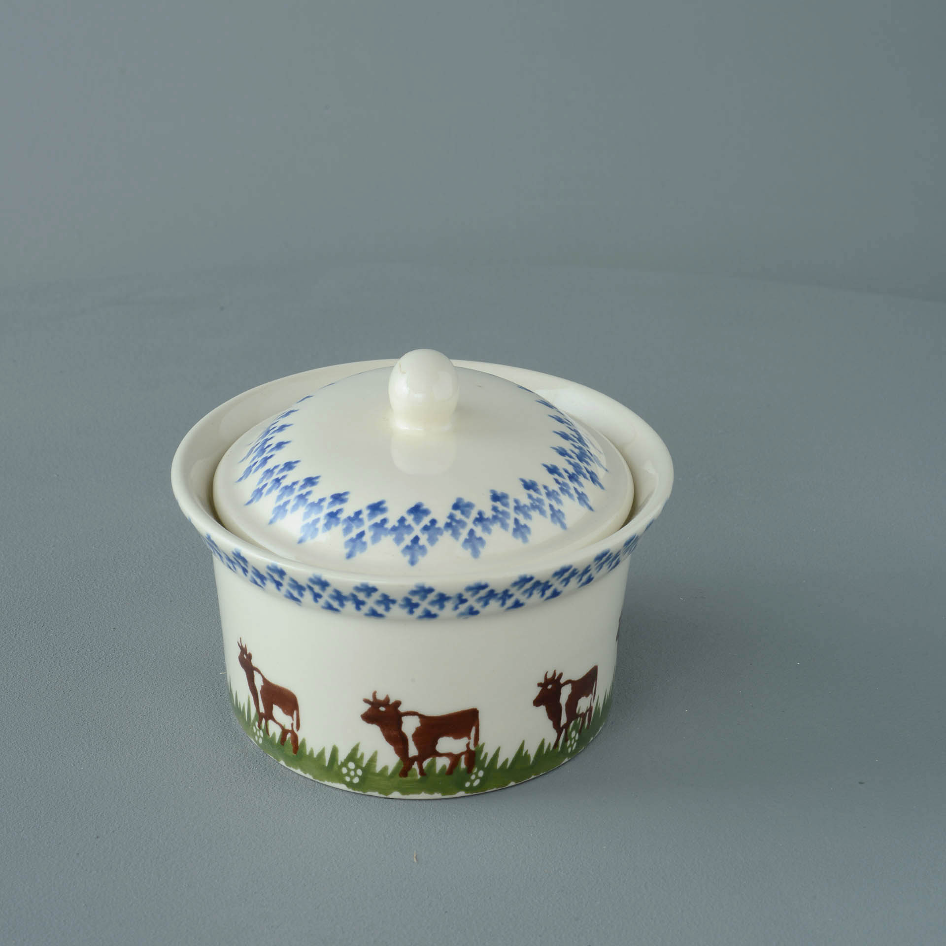 Cows Butter Dish Oval 16.3 x 12 x 8.5cm
