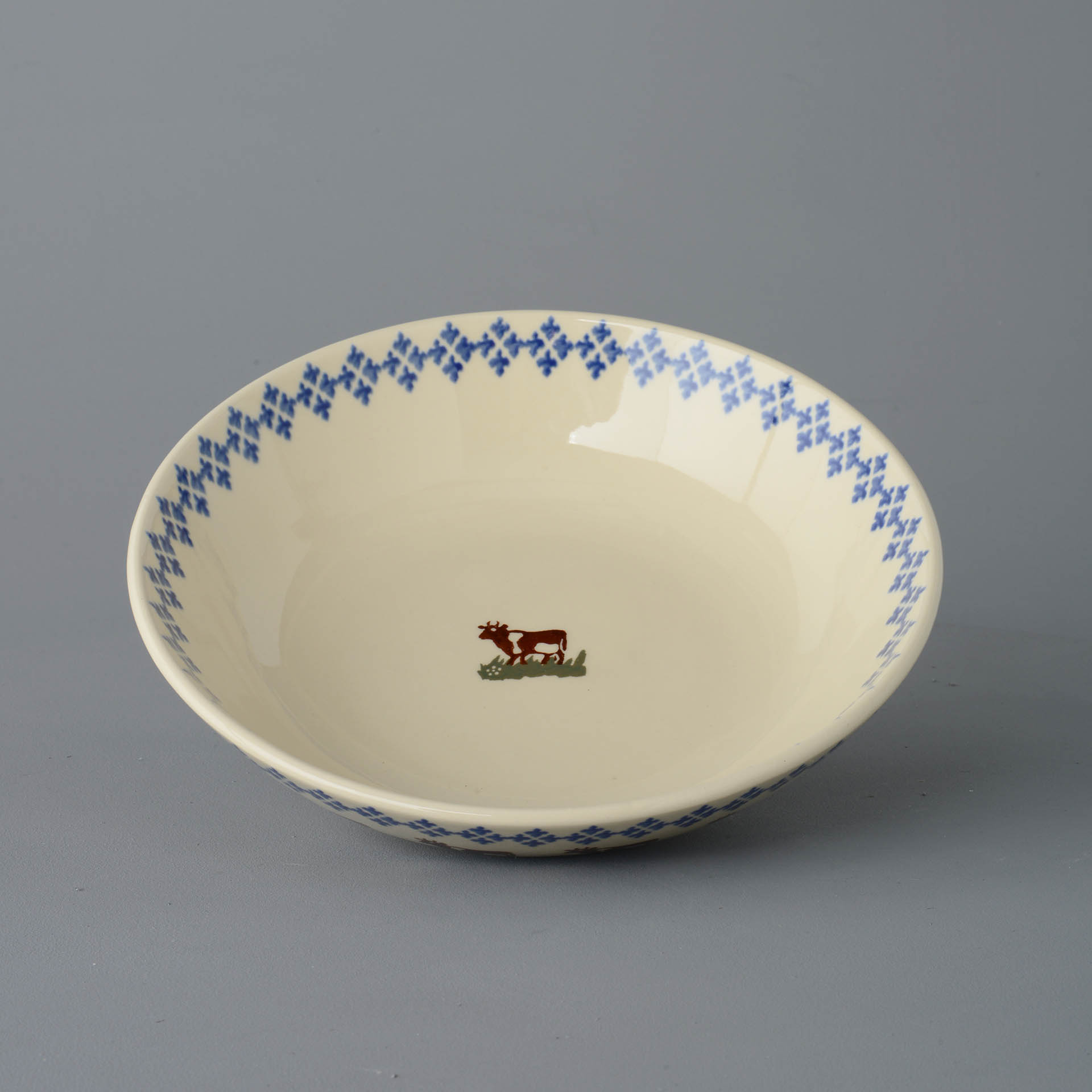 Cows Round Serving Dish 29 x 6.5cm