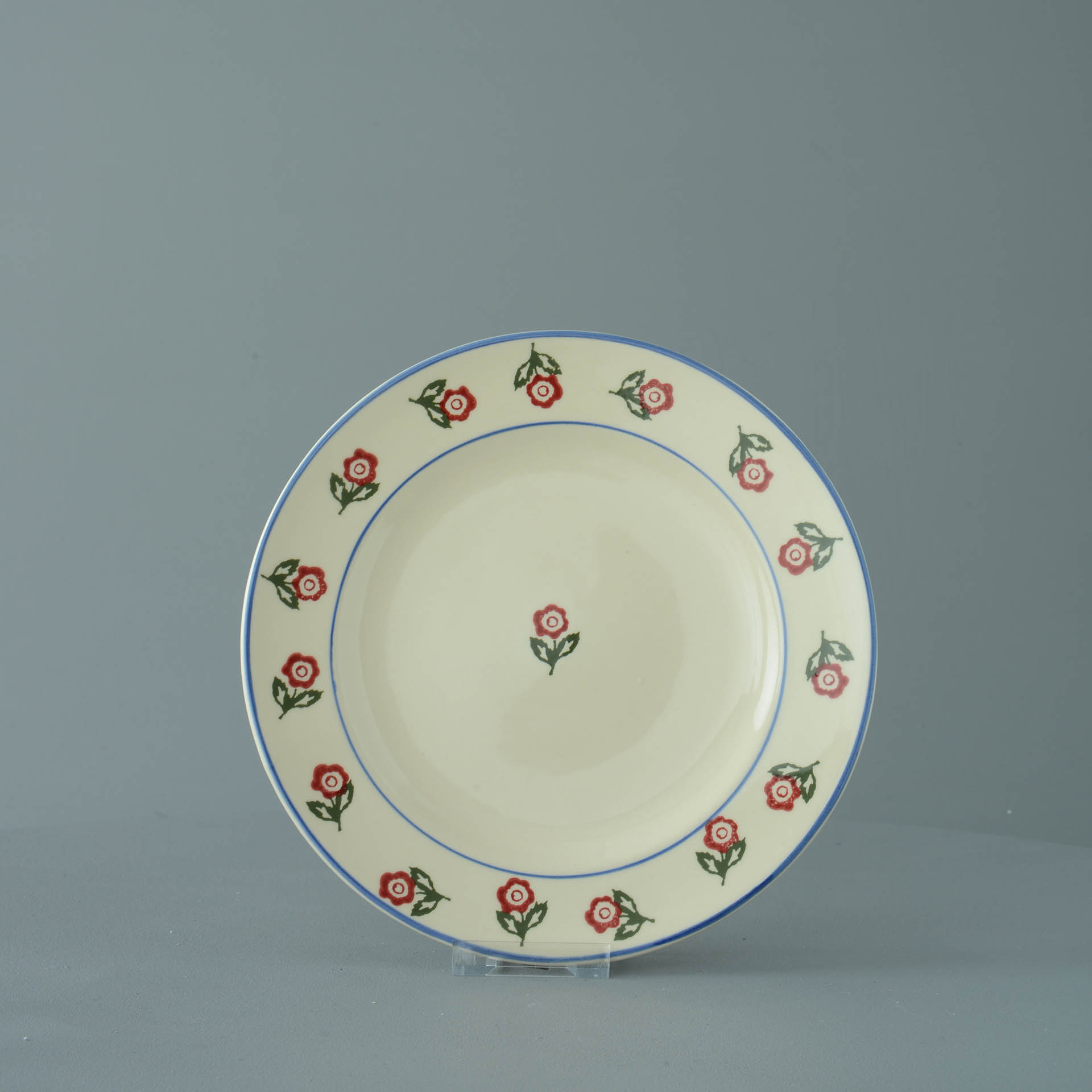 Scattered Rose Dessert Plate 23cm