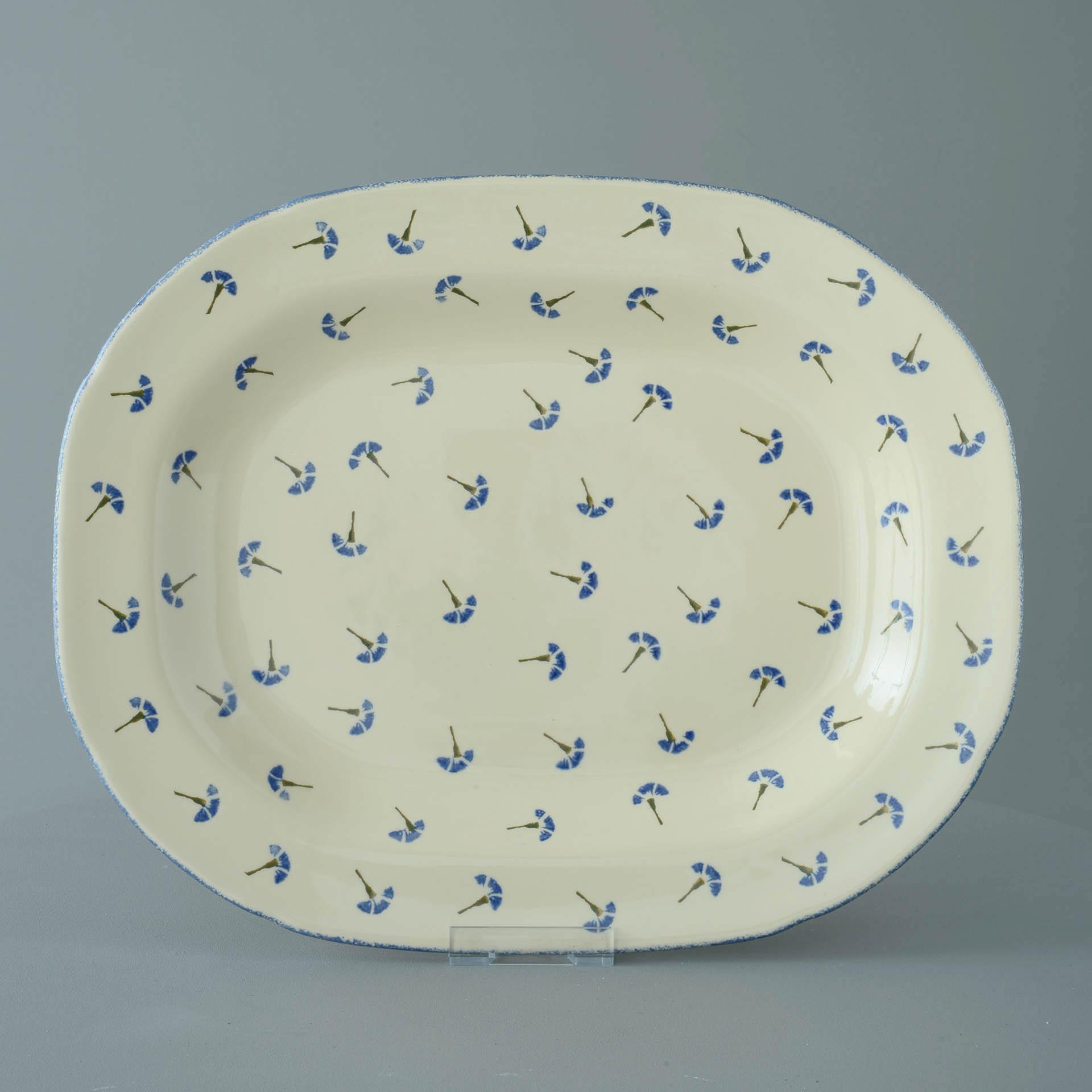 Cornflower Serving Plate Rectangular 45 x 35 x 4.5 cm