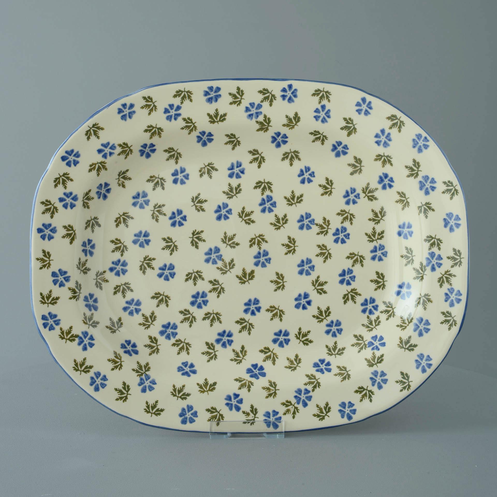 Geranium Serving Plate Rectangular 45 x 35 x 4.5 cm