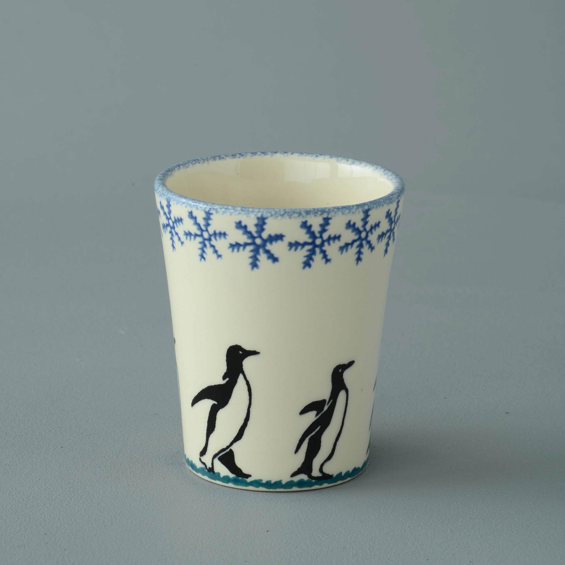 Penguin Bathroom Beaker 8(dia) x 9(h) cm.
