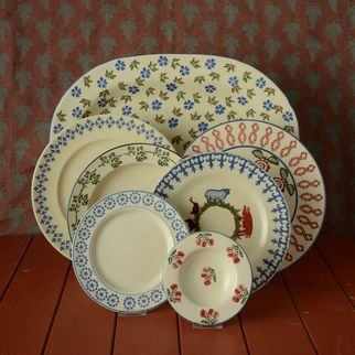 Serving Plate, Dinner Plate, Side Plate, Dessert Plate