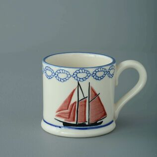 Mug Small Boat Sailing