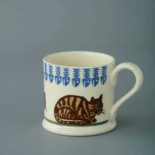 Mug Small Cat Tabby