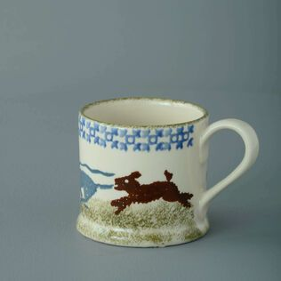 Mug Small Dog Scottie Chasing