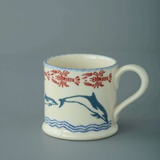 Mug Small Dolphin Leaping