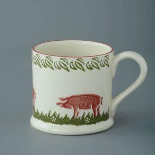 Mug Large Pink Pig
