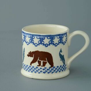 Mug Large Bear and Fish