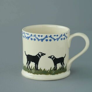Mug Large Dog Black Labrador
