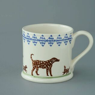 Mug Large Dog spotty