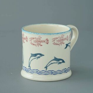 Mug Large Dolphin Leaping