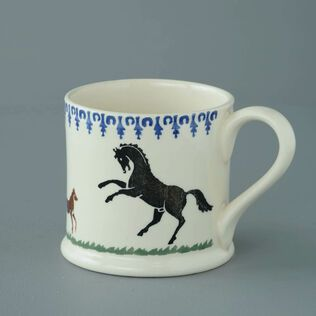 Mug Large Horse and Stallion
