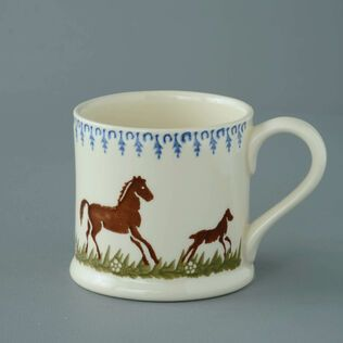 Mug Large Horse and Foal