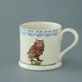 Mug Large Owl On A Stump