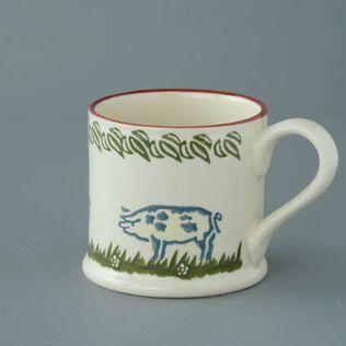 Mug Large Pig Spotty