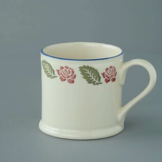 Mug Large Rose Border