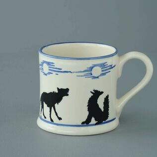 Mug Large Wolves Howling