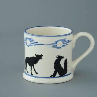 Mug Large Wolves Howling