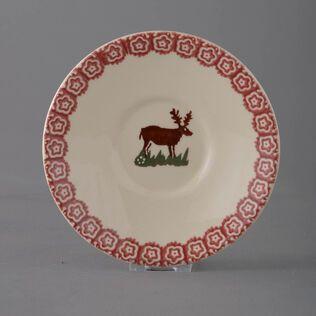 Cup & Saucer Breakfast Size Reindeer